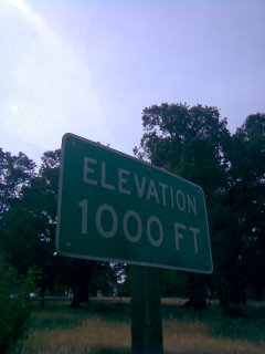 Elevation 1000 Feet