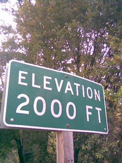 Elevation 2000 Feet