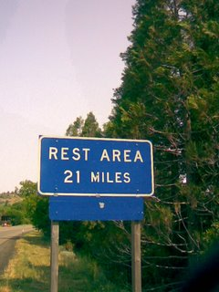 Leaving Weed, CA Rest Area 21 Miles